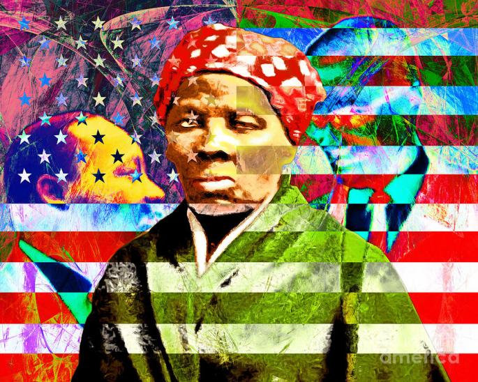 harriet-tubman-martin-luther-king-jr-malcolm-x-american-flag-wingsdomain-art-and-photography
